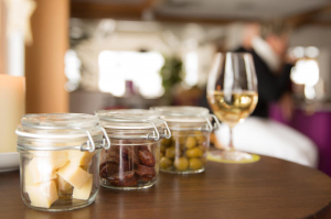 Snacks for our bar visitors at the Hotel Alpenblick in Grindelwald